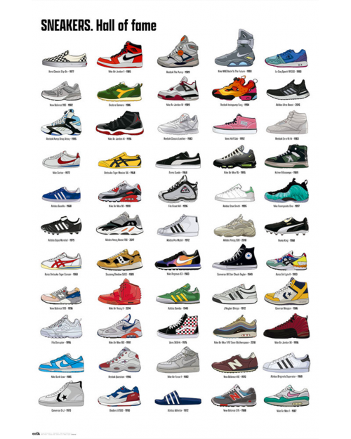 GPE5534 SNEAKERS HALL OF FAME