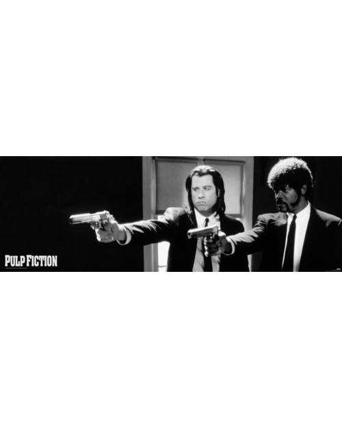 CPP20107 Pulp Fiction (B&W...