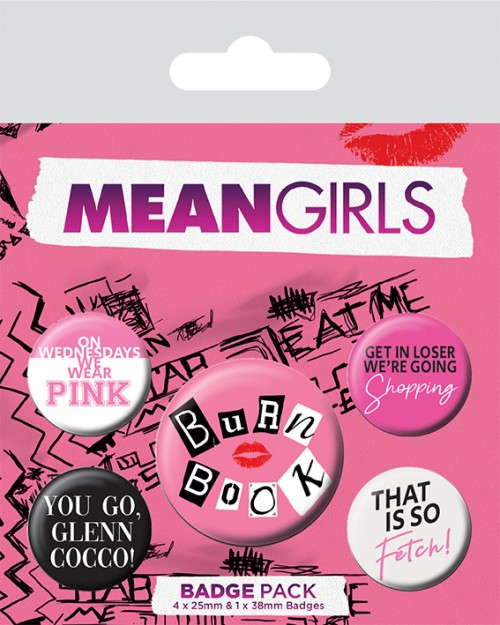 Mean Girls (Burn Book)...