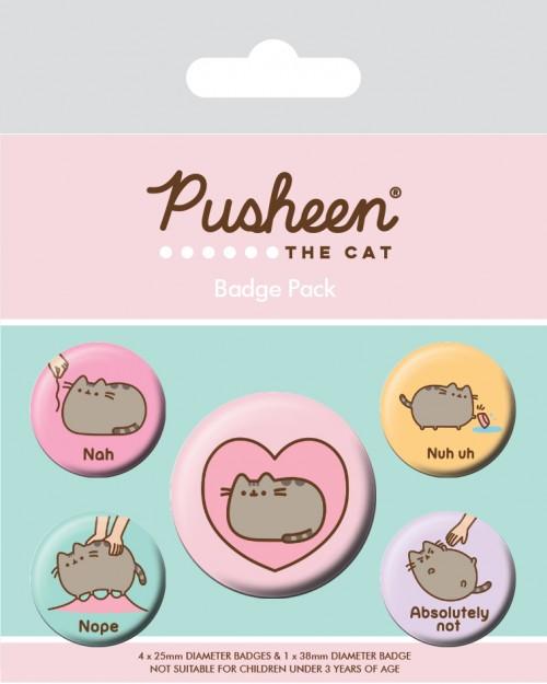 Pusheen (Nah) Badge Pack