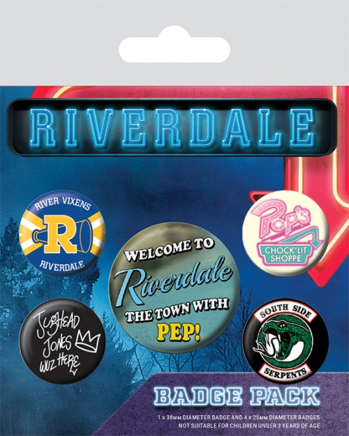 Riverdale (Icons)  Badge Pack