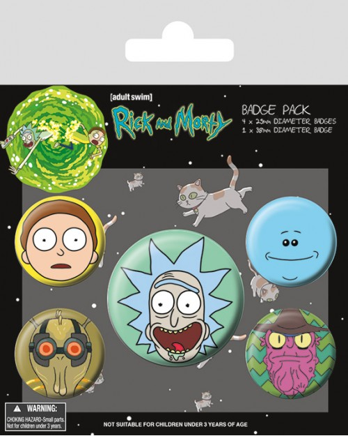 Rick and Morty (Heads)...