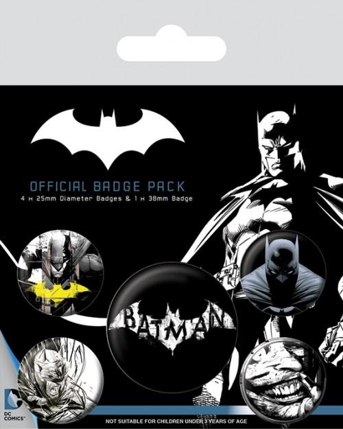 Batman (Dark)  Badge Pack...