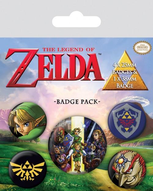 The Legend Of Zelda  Badge...