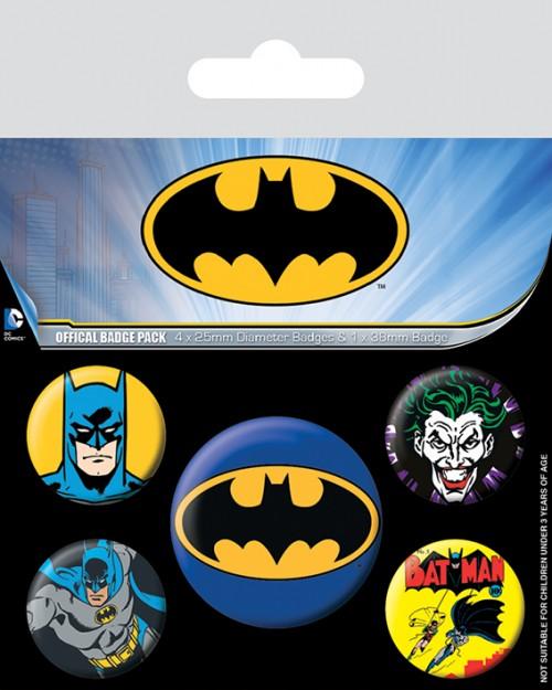 Batman  Badge Pack BP80439
