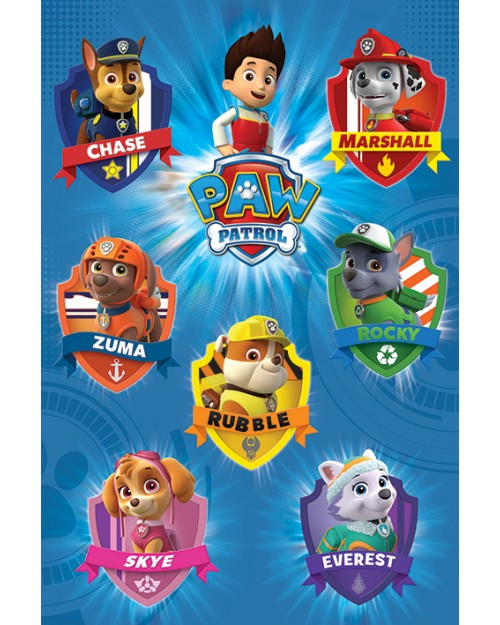 PP33832 Paw Patrol (Crests)
