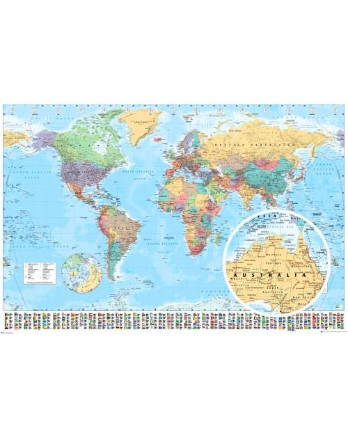 PP34739 GN0214 World Map...
