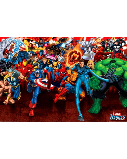 PP31736 Marvel Heroes (Attack)