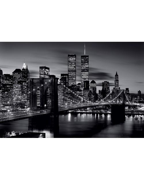 PP32094 Brooklyn Bridge (B&W)