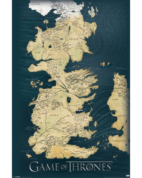 PP32664 Game of Thrones (Map)