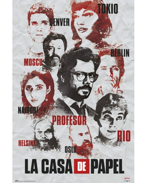 GPE5321 LA CASA DE PAPEL...