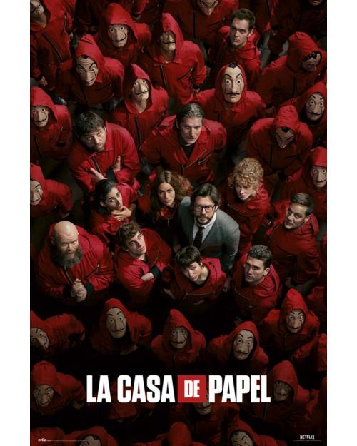 GPE5482 LA CASA DE PAPEL...